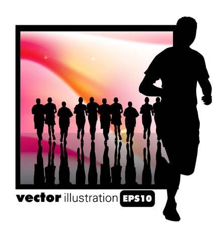 Sport illustration Stock Vector - 9868682