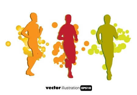 Sport illustration Stock Vector - 9560130