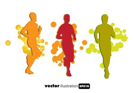 jogger: Sport illustration