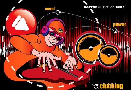 EPS10 Party people.  Vector