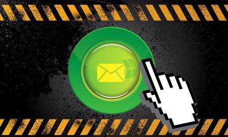 clic: Web button mail