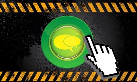 clic: Web button chat