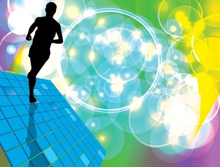 Sport vector illustration Vector