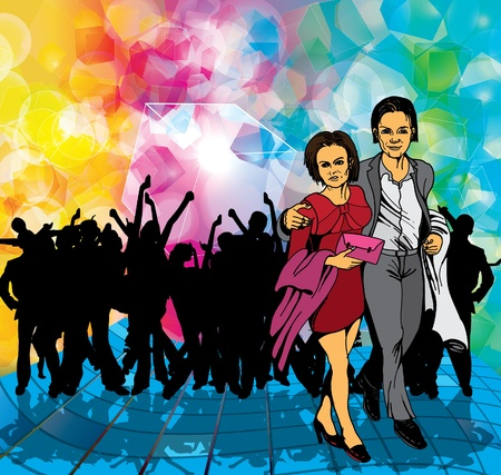 party people background Stock Vector - 9868731