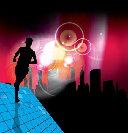 Sport illustration Vector