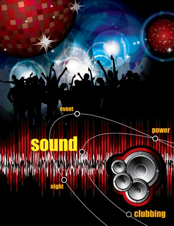 Music event background Stock Vector - 9868786