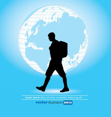 Travel poster Stock Vector - 9817154