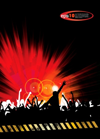 Party event poster Vector