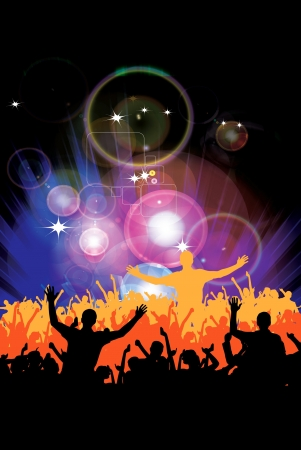 Music event background. Stock Vector - 10099873
