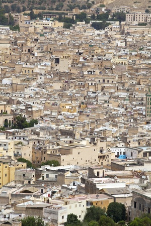 The Old City of Fez, Morocco photo