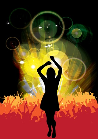 ensemble: Party event poster