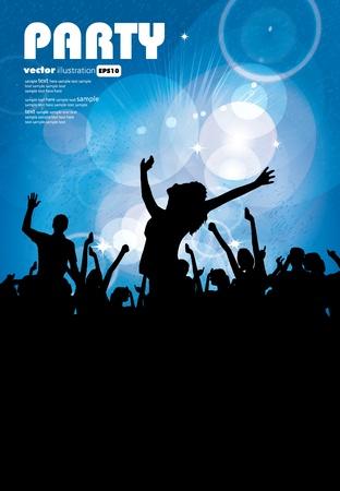 night club: Sullo sfondo di eventi di musica.