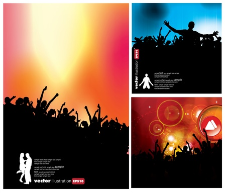 fragmentary: Cartel de fiesta evento