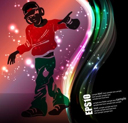 Music event poster Ilustracja