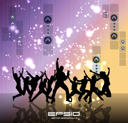 Music event background. Vector eps10 illustration. Stock Vector - 10730009