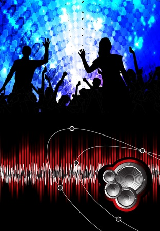 party people background Stock Vector - 10796646