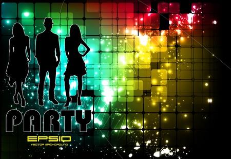 Music event illustration Stock Vector - 10952961