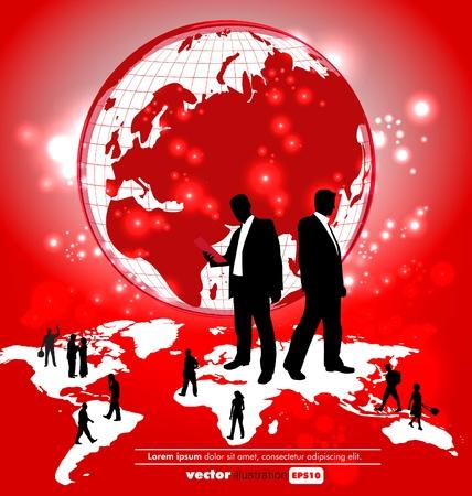 corporate hierarchy: World organization