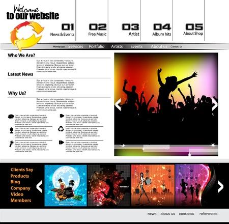 webtemplate: Web template