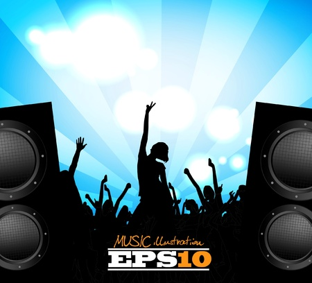 Party event illustration Vector