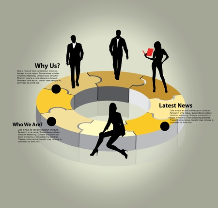 investor: Business concept  Illustration