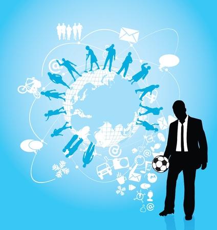 businessman Stock Vector - 11914397