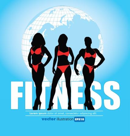 Fitness Club Stock Vector - 11914399