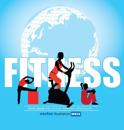 Fitness Club Stock Vector - 11914401