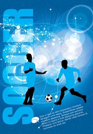 arquero: F�tbol. Ilustraci�n del vector. Vectores