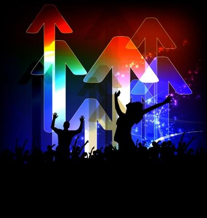 Disco Party anunciante eps10