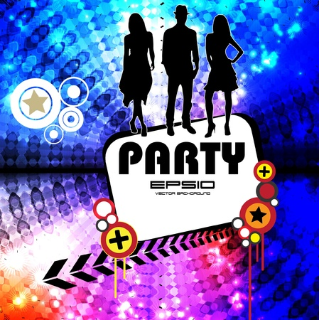 Dance party Stock Vector - 11871045