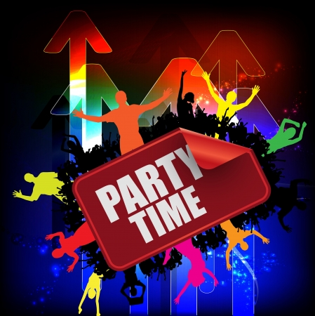 Dance party Stock Vector - 11871041