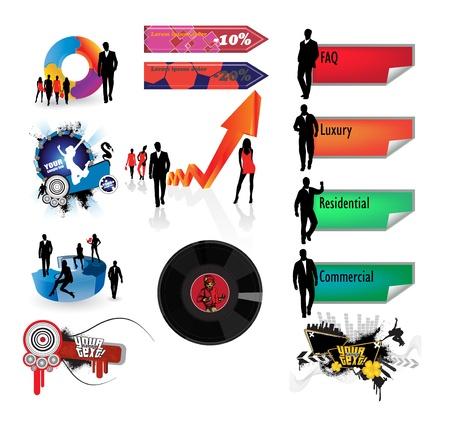 Illustration Website Stock Vector - 11871019