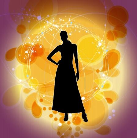 miniskirt: Fashion Girl Shopping Background