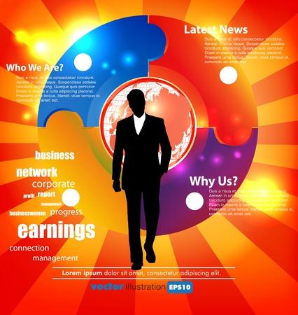 성장: 비즈니스 개념 일러스트