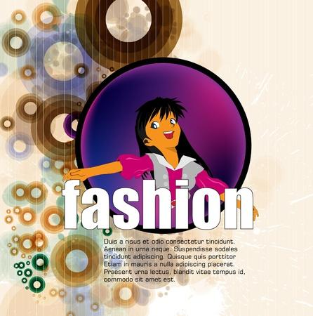 Fashion illustration Stock Vector - 12410188