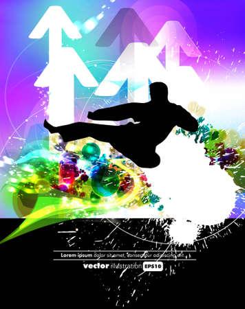 kyokushin: Kyokushin karate Illustration