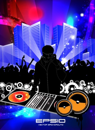Party People Concert Crowd Vector