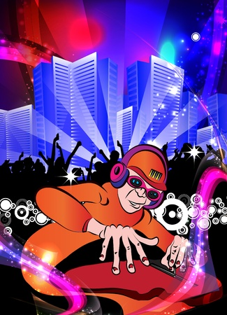 Party People Concert Crowd Stock Vector - 12410338