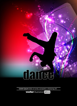 hip hop dancing: Party Background