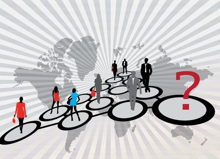migraci�n: La gente de negocios