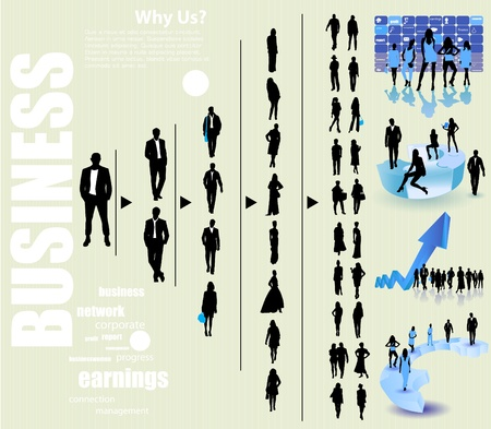 work worker workforce world: Business people