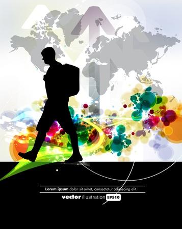 Travel illustration Stock Vector - 12496920