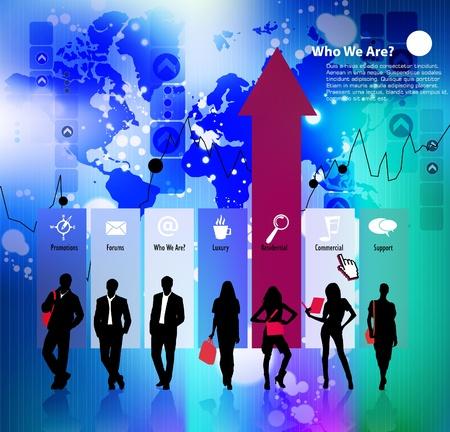 entrepreneurs: Business team