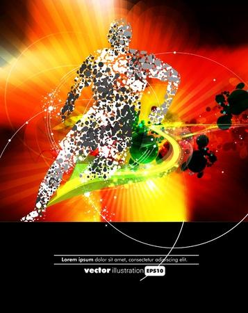 Illustration vectorielle Sport Vecteurs