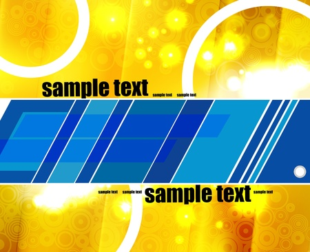 Eps10 vector abstract colorful modern background  Vector