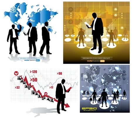 Business Abstract Background Illustration