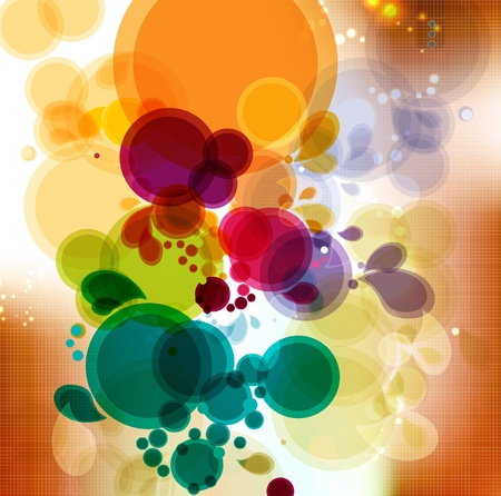 Abstract colorful background  Vector   Vector