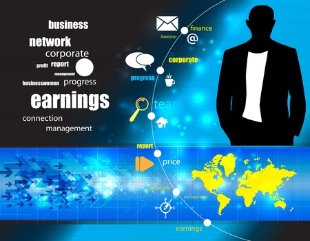 information technology: Business illustration