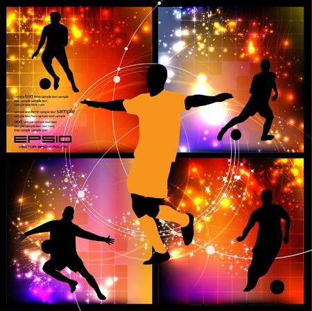 Soccer Player Stock Vector - 13027904
